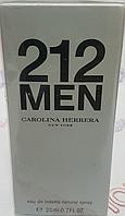 212 men Carolina herrera Мужской Мини парфюм ( 20 мг )