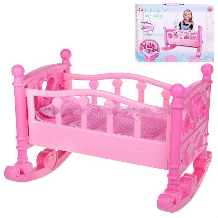 Кроватка YL2000A для кукол, в коробке