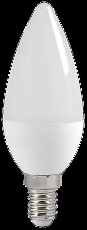 Лампа светодиодная ECO C35 свеча 5Вт 230В 4000К E14 ИЭК, фото 2