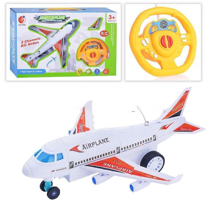 Самолет 163-6688-58 р/у, на батарейках, в коробке