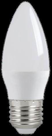 Лампа светодиодная ECO C35 свеча 5Вт 230В 4000К E27 IEK, фото 2