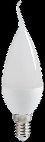 Лампа светодиодная ECO CB35 свеча на ветру 7Вт 230В 4000К E14 ИЭК, фото 2