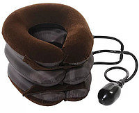 Тройная надувная подушка - воротник для вытягивания шеи, фото 1