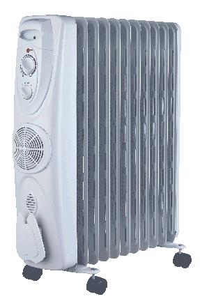 Масляный обогреватель MIDEA: NY2009-15EFA (с вентилятором), фото 2