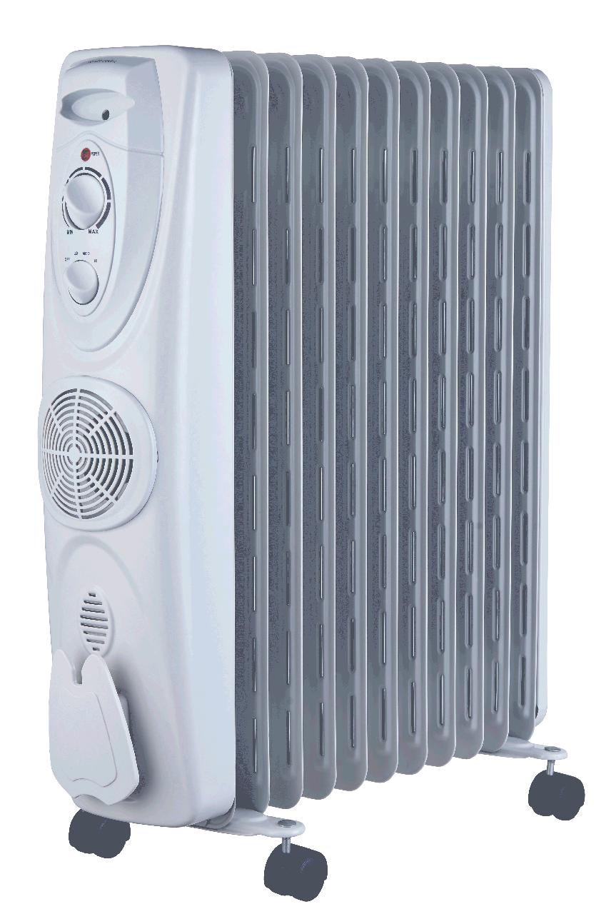 Масляный обогреватель MIDEA: NY2311-ERF (с вентилятором)