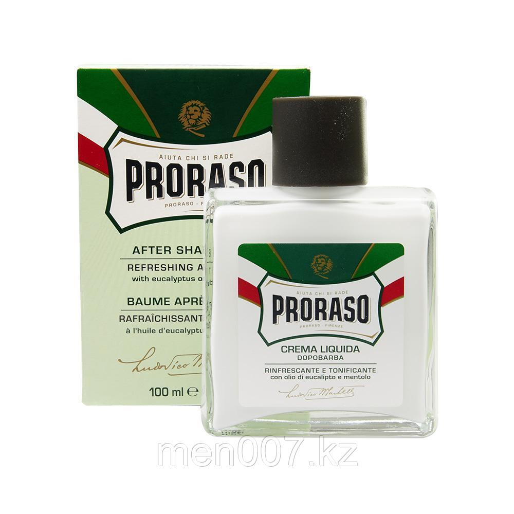 PRORASO Crema Liquida Dopobarba (Бальзам после бритья) (Ментол и Эвкалипт)