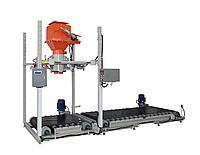 Дозатор для сыпучих продуктов в мешки «Биг-Бег» с перегружателем СВЕДА ДВС-301-1000-1-П