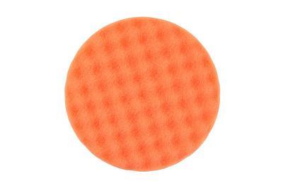 Рельефный поролоновый полировальный диск 150x25мм, оранжевый 2 шт. в упаковке