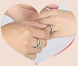 """Кольца обручальные  """"Серебристое совершенство"""", фото 4"""