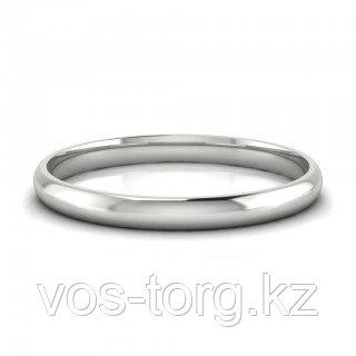 """Кольцо обручальное  """"Серебристое совершенство"""" 19 и 22 размер"""