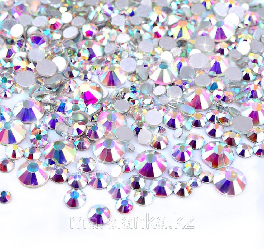 Стразы Swarovski Crystal AB Mix, 100штук
