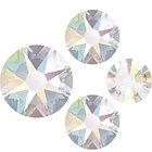 Стразы Swarovski Crystal AB Mix, 100штук, фото 2