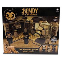 """Bendy """"Бенди и чернильная машина"""" Конструктор """"Комната с Чернильной машиной"""" 259 дет."""