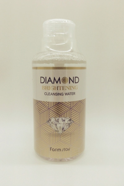 Очищающая вода FARMSTAY Diamonds Brightening Cleansing Water