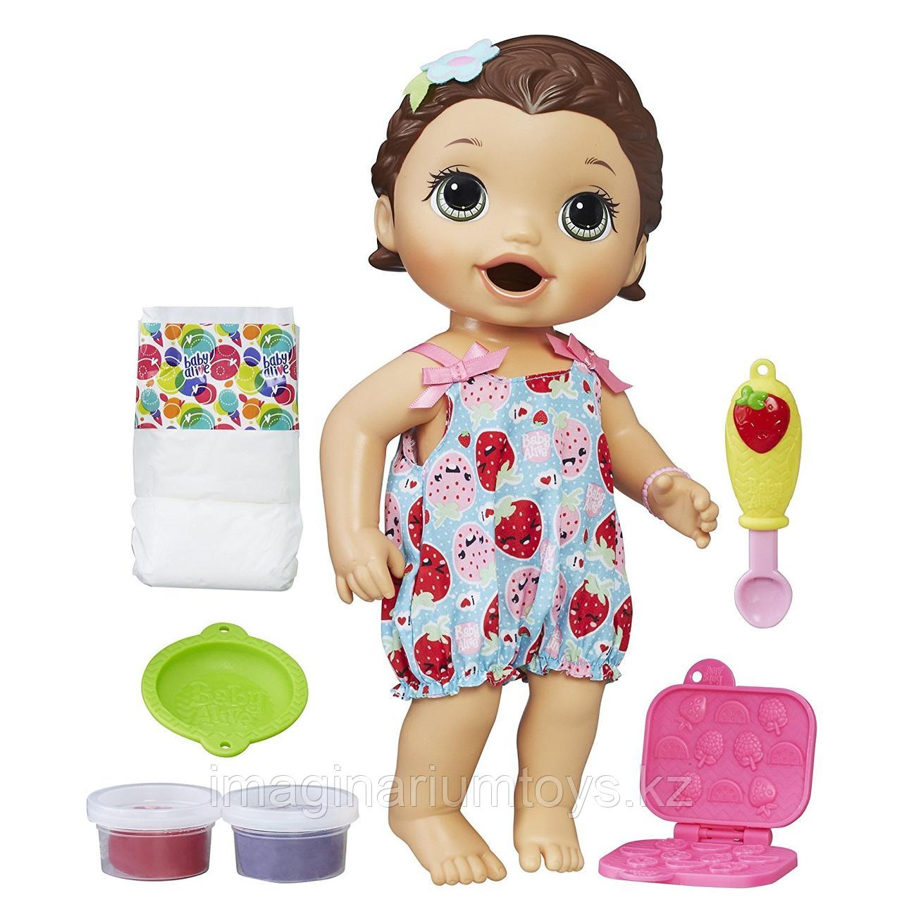 Интерактивная кукла Baby Alive брюнетка