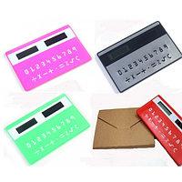 Калькулятор в форме кредитной карты.