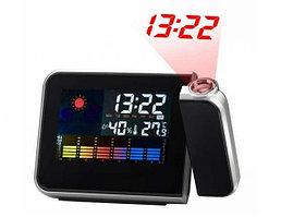 Настольные часы  8190 метеостанция с проектором времени