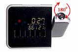 Настольные часы  8190 метеостанция с проектором времени  , фото 3
