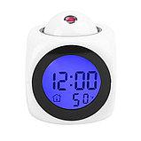 Часы будильник с проектором времени голосовые, фото 3