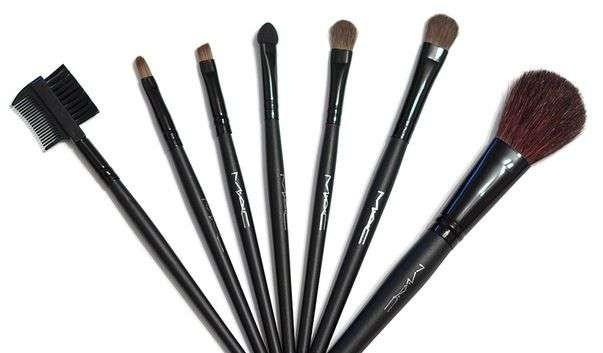 Набор кистей для макияжа MAC 7 кисточек