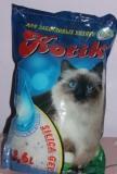 Котик, 3,8 л.(1,7 кг) Силикагелевый наполнитель для кошачьего туалета