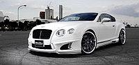 Оригинальный обвес WALD Black Bison на Bentley Continental GT 2011+, фото 1