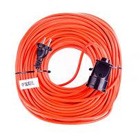 Удлинитель-шнур силовой, 20 м, 1 розетка, 10 A, серия УХ10. DENZEL