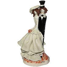 Статуэтка Влюбленная пара. Керамика, ручная работа, Италия