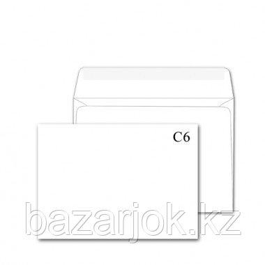 Конверт бумажный А6