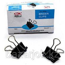Зажимы для бумаг, 32 мм, по 12 шт в уп BINDER CLIPS