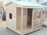 Деревянный домик Боровичек