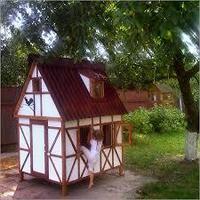 Деревянный домик Герда