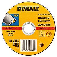 Круг отрезной DeWALT DT42340Z-QZ 125 мм x 1.2 мм x 22.23 мм