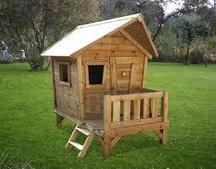 Деревянный домик Сказка