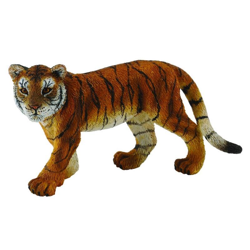 CollectA Фигурка Детеныш сибирского тигра, 8 см