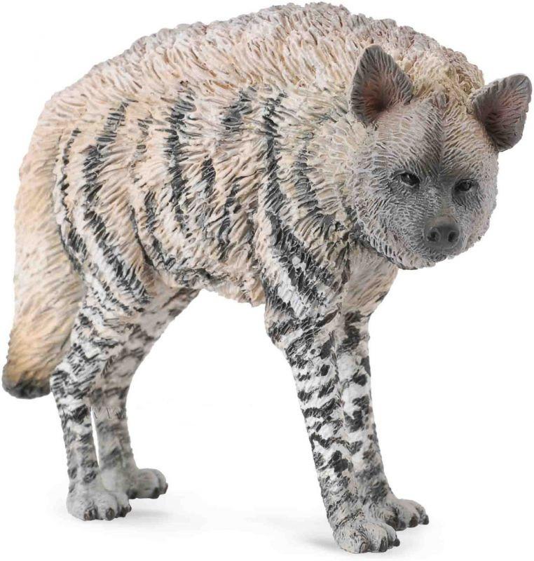 CollectA Фигурка Полосатая гиена, длина 9 см