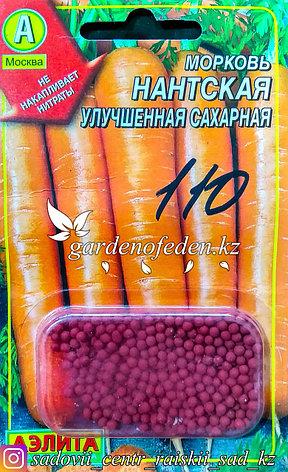 """Семена гранулированные Аэлита. Морковь """"Нантская улучшенная сахарная"""", фото 2"""