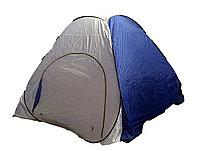 Утепленная палатка для зимней рыбалки автомат дно на молнии 2.3 на 2.3, доставка