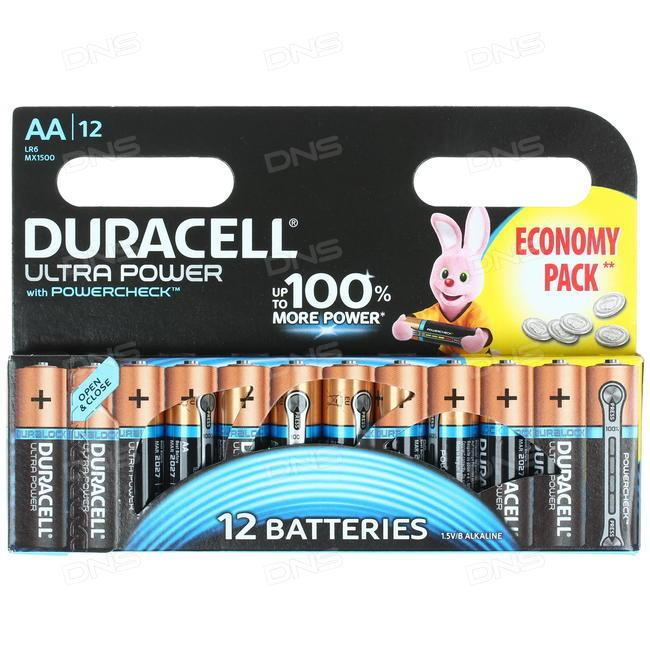 Батарейка Duracell Ultra Power AA LR6
