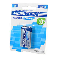 Батарейка  Robiton 9v   Alkaline 6LR61 standart