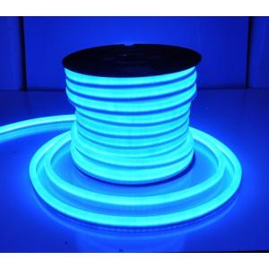 Флекс неон синий 1,5*2,5 см SMD, Led Flex neon синего цвета, гибкий неон, холодный неон, неоновый провод