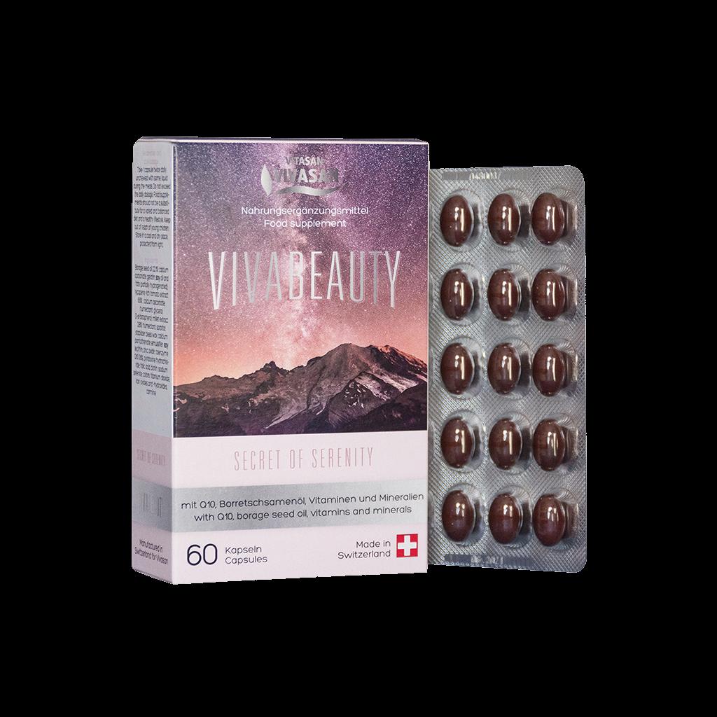 Реальный путь к активному долголетию, бодрости и красоте. Антивозрастные капсулы Viva Beauty.