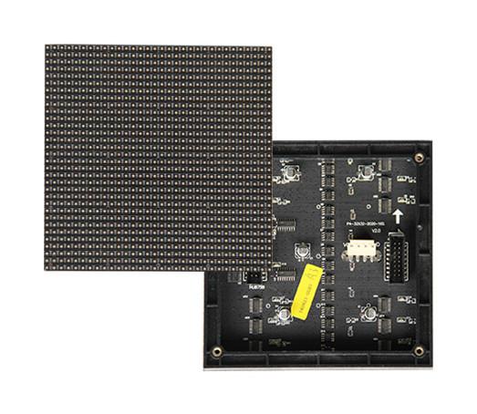 LED светодиодный модуль (внутренний) SMD, P4, 256x256mm