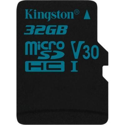Карта памяти MicroSD 32GB Class 10 U3 Kingston SDCG2/32GBSP
