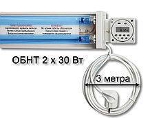 Лампа кварцевая настенная с таймером ОБНТ 2х30