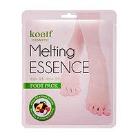 Смягчающая маска-носочки для ног/KOELF Melting Essence Foot Pack