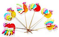 Леденец «Петушок цветной хвост» 30 гр  (24 шт. в упаковке)