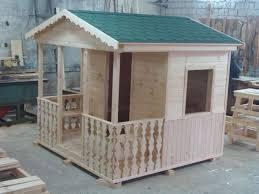 Деревянный домик Солнечный