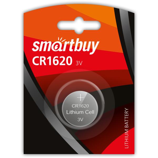 Батарейка литиевая Smartbuy CR1620-1BL