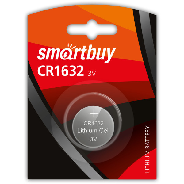 Батарейка литиевая Smartbuy CR1632-1BL